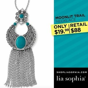 Lia Sophia Moonlight Trail Necklace